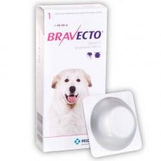 Жевательная таблетка Bravecto от блох и клещей для собак гигантских пород от 40 до 56 кг, 1400 мг