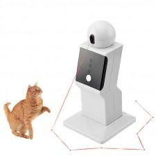 Игрушка для кошек и собак, робот лазерный проектор, 3 режима движения Pet Crazy Laser