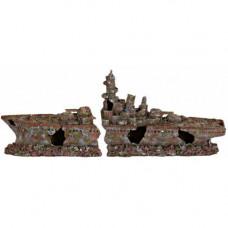 Грот для рыб Trixie - Корабль, 70 см