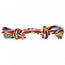 Игрушка веревка узловая Trixie Denta Fun для собак, хлопок, 54 см