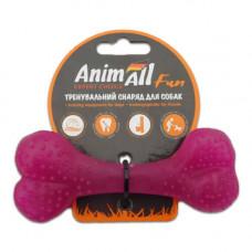 Игрушка AnimAll Fun кость 12 см Фиолетовая