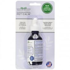 Капли успокаивающие Synergy Labs Richards Organics Pet Calm для собак и кошек, 59 мл