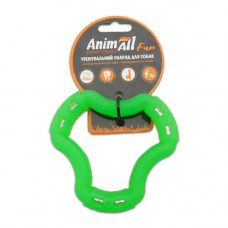 Игрушка AnimAll Fun кольцо 6 сторон 12 см Зеленый