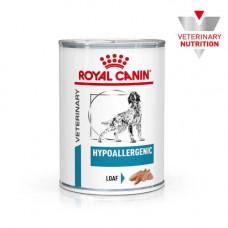 Влажный корм Royal Canin Hypoallergenic при пищевой аллергии у собак, 400 г
