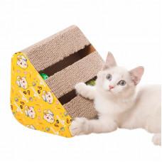 Когтеточка для кота с игрушками Taotaopets 044418 28x24x13см