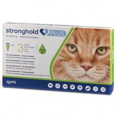 Капли Zoetis Stronghold Plus 60 мг/10 мг против паразитов для кошек весом от 5 до 10 кг, 1 мл