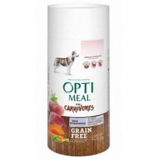 Беззерновой сухой корм Optimeal для взрослых собак всех пород, с уткой и овощами, 650 г