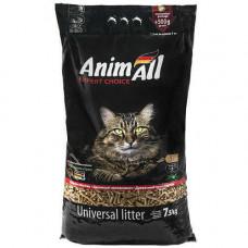 Древесный наполнитель AnimAll для котов, 7.5 кг