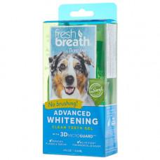 Гель для отбеливания зубов TropiClean Fresh Breath Advanced Whitening Gel для собак, 118 мл