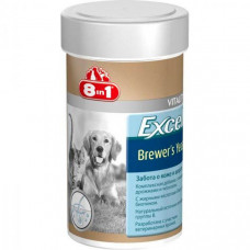 Витамины для крупных собак 8 in 1 Excel Brewers Yeast таблетки 80 шт