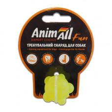 Игрушка AnimAll Fun шар молекула, желтая, 3 см