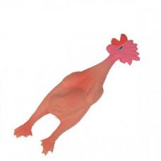 Игрушка Flamingo Chicken Small для собак, курица из латекса, 6х6х24 см