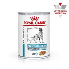 Влажный корм Royal Canin Sensitivity Control при пищевой аллергии у собак, курица, 420 г