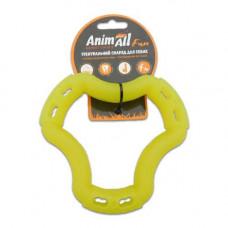 Игрушка AnimAll Fun кольцо 6 сторон 15 см Желтое