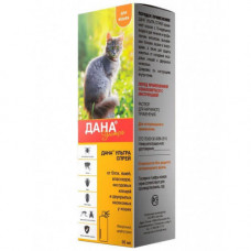 Спрей Api-San Дана Ультра для профилактики и борьбы с блохами, вшами, власоедами для котов, 95мл