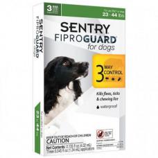 Капли Fiproguard от блох, клещей и вшей для собак 10-20 кг, 1,34 мл, 3 шт, цена за 1 шт
