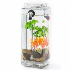 Мини аквариум самоочищающийся My Fun Fish