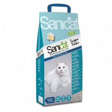 Впитывающий наполнитель Sanicat Clean Oxygen для кошачьего туалета с активным кислородом, 10 л