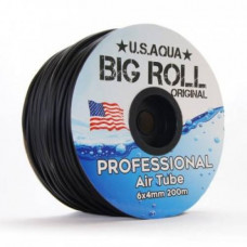 Шланг U.S.Aqua Airline Black черный 4/6 мм силиконовый, 1 м