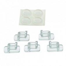 Клипсы для стекла (5x) и ножки (4x) для EHEIM aquastyle_nano shrimp