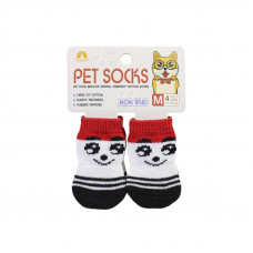 Антискользящие носки для собак Taotaopets 331 Смайл M (6218-20738)
