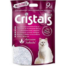 Гигиенический наполнитель Cristals Fresh Силикагелевый 9л (5070470)