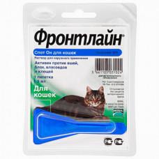 Капли Boehringer Ingelheim Фронтлайн Спот Он от блох и клещей для кошек