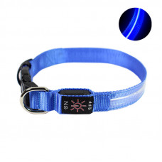 LED ошейник светодиодный Friend CR2032 Blue L