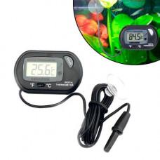 Термометр цифровой для аквариума BTB с ЖК-дисплеем и выносным датчиком