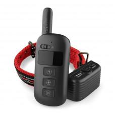 Электронный ошейник для собаки для дрессировки + антилай 2 в 1 Dobe DB 500 Красный (100608)