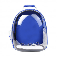 Рюкзак-переноска для кошек Taotaopets 253304 Panoramic 35*25*42cm Blue