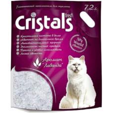 Гигиенический наполнитель Cristals Fresh Силикагелевый 7.2л (5070300)