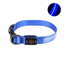 LED ошейник светодиодный Friend CR2032 Blue M