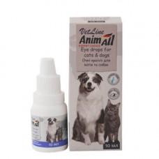 Глазные капли AnimAll VetLine для кошек и собак, 10 мл