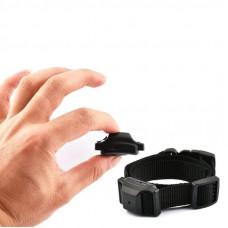 Ошейник антилай ультразвуковой вибрационный для маленьких собак DOBE PET68B, с аккумулятором (03153)