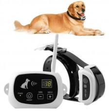 Беспроводной забор для собак Pet KD-661 с 1-м ошейником Белый