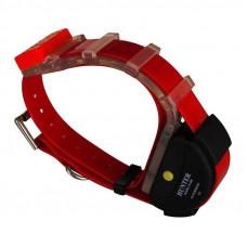 Ошейник с GPS для охотничьих собак HUNTER APP-100 водонепроницаемый Красный