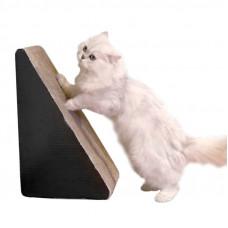 Когтеточка (дряпка) треугольная доска для кота Hoopet 17T0178MN 21,5*23,5*40,5 см