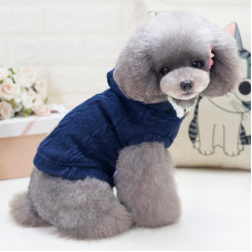 Кофта для собак с капюшоном Dog Baby EST.1978 Темно-синий S (6221-20753)