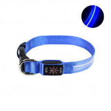 LED ошейник светодиодный Friend CR2032 Blue S
