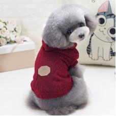 Кофта для собак с капюшоном Dog Baby EST.1978 Красный S (6221-20441)