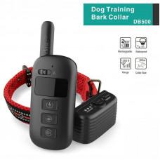 Электронный ошейник заряжаемый для дрессировки собак + антилай 2 в 1 Dobe DB500 ELIT, 6 режимов работы, 400 м (03202)