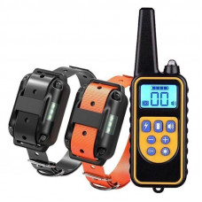 Электроошейник для дрессировки собак Pet DTC-800 с 2-мя ошейниками