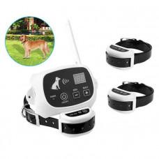 Беспроводной электронный забор для собак Pet KD-661 с 3-мя ошейниками (03290-3)