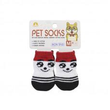 Антискользящие носки для собак Taotaopets 331 Смайл M (6218-20421)