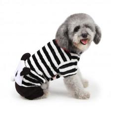 Костюм для собак Taotaopets Panda XL Черно - белый (6220-20430)