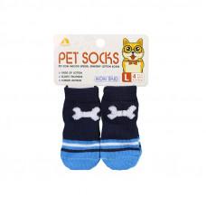 Антискользящие носки для собак Taotaopets 331 Кость L