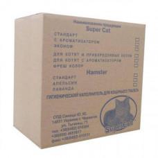 Древесный наполнитель туалетов для кошек SuperCat 15 кг (17773)