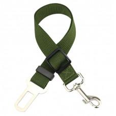 Автомобильный ремень безопасности для собаки GoodTrip 43-72 см Green (HbP050625)