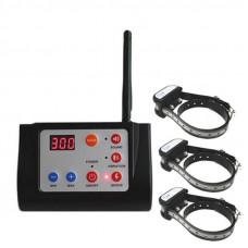 Беспроводной электронный забор для собак + электронный ошейник для дрессировки 3-х собак Petguider 883-3 (100632)